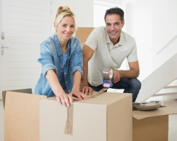 A couple Moving with Irish Moving and Storage NYC Movers